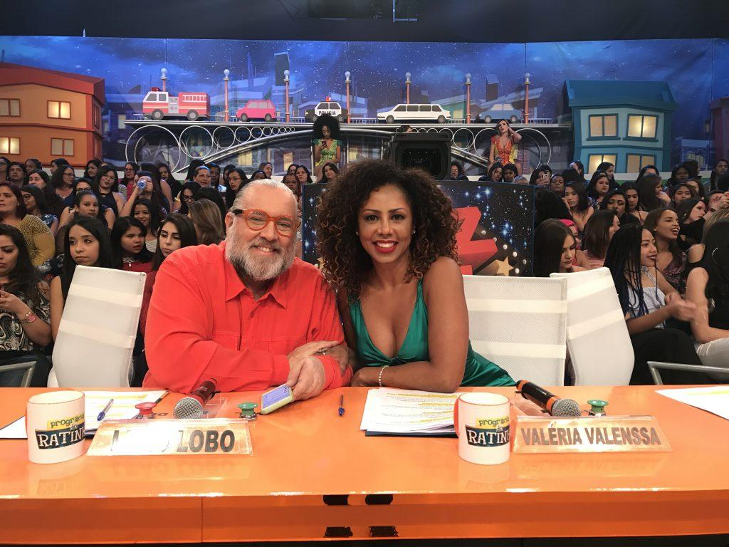 Valéria Valenssa havia sido contratada pelo SBT e esteve no programa do Ratinho