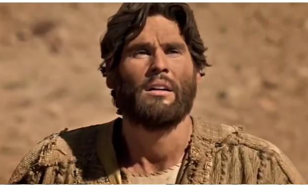 Dudu Azevedo como Jesus (Foto: Reprodução)