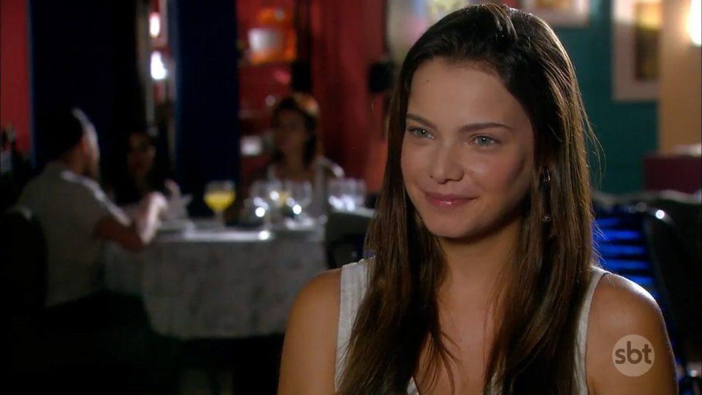 Luisa (Milena Toscano) em cena de As Aventuras de Poliana (Foto: Reprodução/SBT)