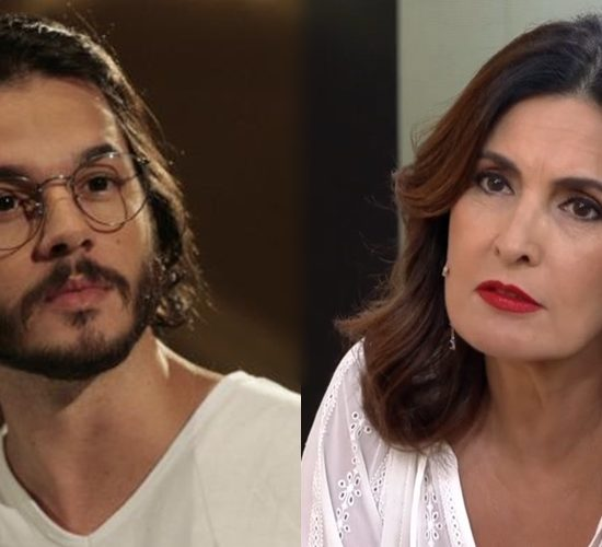 Túlio Gadelha e Fátima Bernardes (Foto: Reprodução)