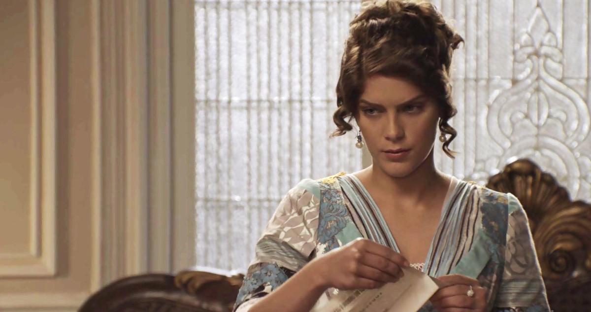 Isabela Santoni interpreta Charlotte Williamson em Orgulho e Paixão (Foto: Divulgação)