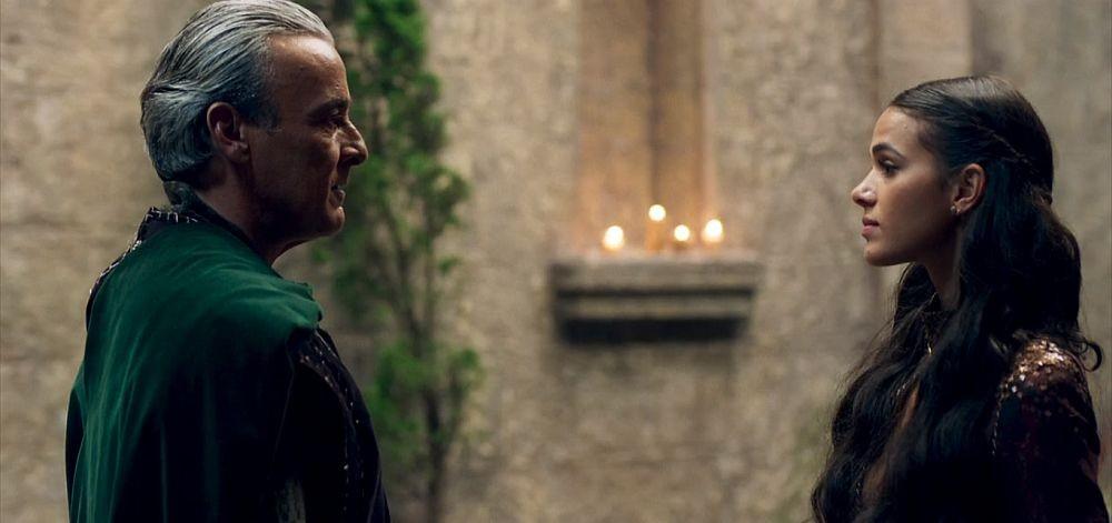Otávio e Catarina em Deus Salve o Rei (Foto: Divulgação)