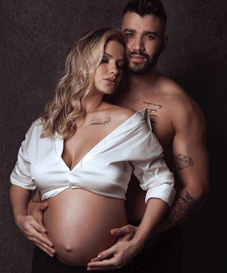 Gusttavo Lima e Andressa Suítal (Foto: Reprodução/Instagram)