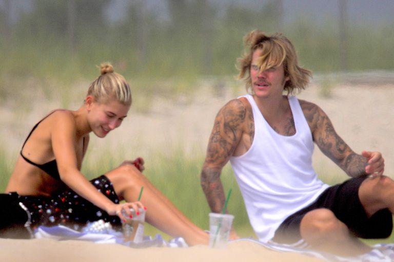 Justin Bieber e Hailey Baldwin ficaram noivos (Foto: Reprodução)