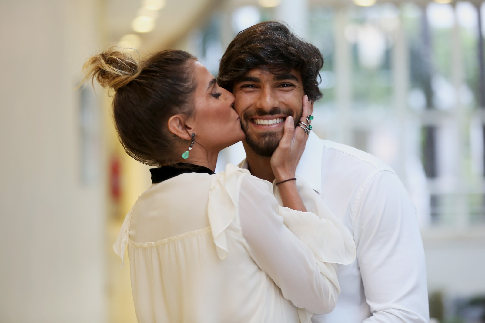 Hugo Moura e Deborah Secco (Foto: Carol Caminha/Gshow)