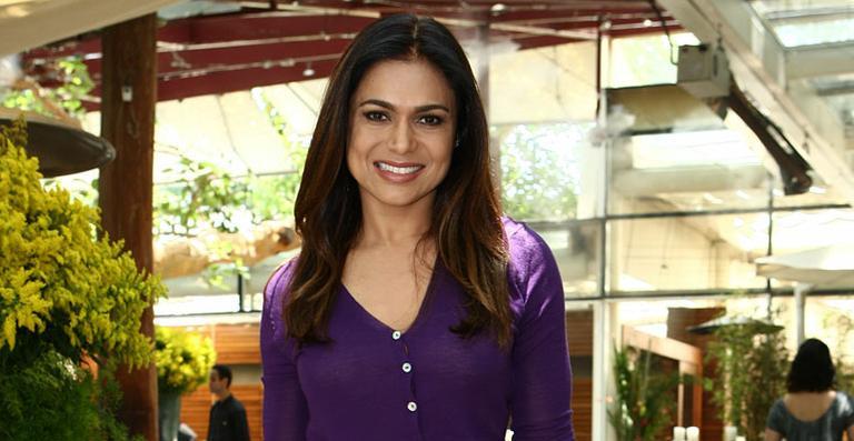 A apresentadora Rosana Jatobá (Foto: Divulgação)