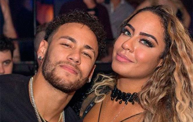 Neymar e sua irmã, Rafaella Santos (Foto: Reprodução)