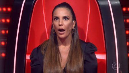 A cantora Ivete Sangalo é jurada do The Voice na Globo