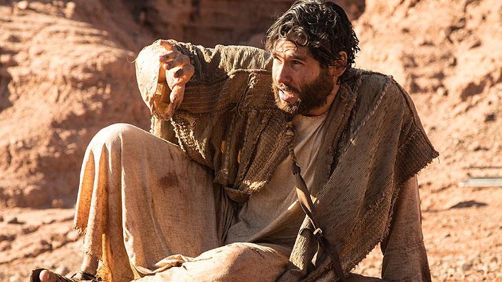Dudu Azevedo como Jesus Foto: Edu Moraes/ Record TV