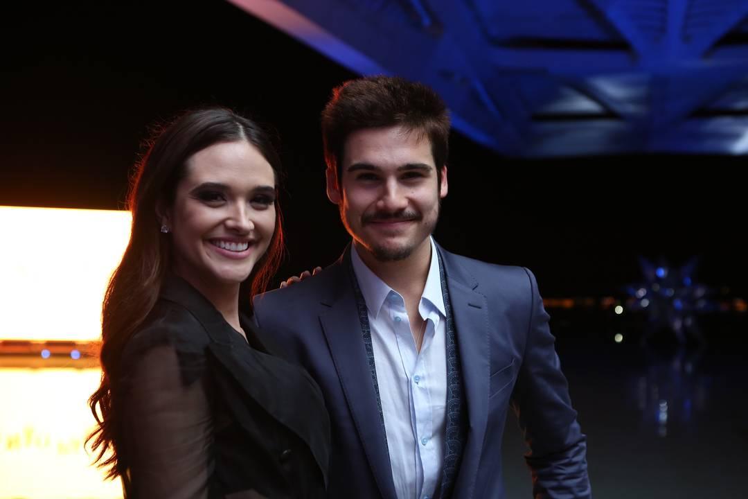 Juliana Paiva e Nicolas Prattes (Foto: Isabella Pinheiro/Gshow)