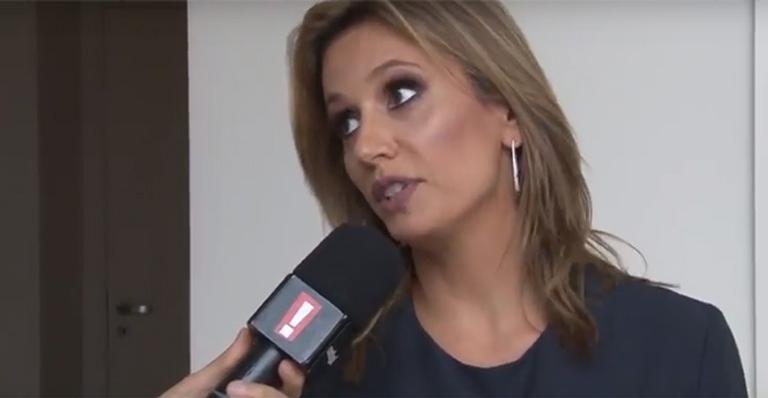 Luisa Mell em entrevista (Foto: Reprodução/Youtube)