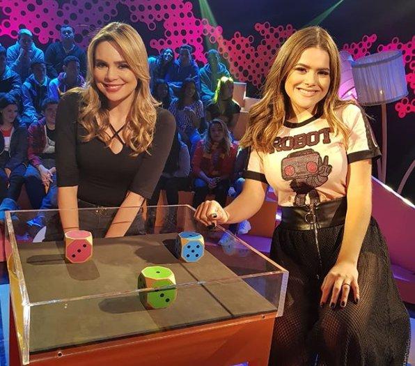 Rachel Sheherazade e Maisa Silva (Foto: Reprodução)
