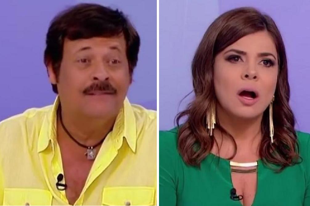 Carlinhos Aguiar e Mara Maravilha teriam sido suposto desentimento nos bastidores do SBT