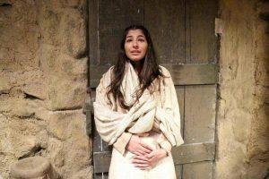 Maria, personagem de Juliana Xavier em Jesus (Foto: Reprodução)