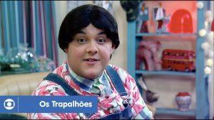 Gui Santana como o Zaca em Os Trapalhões (Foto: Reprodução) globo