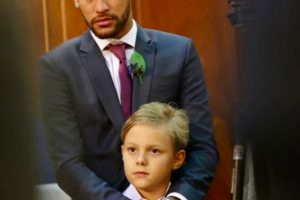 Neymar com o filho Davi Lucca (Foto: Reprodução)