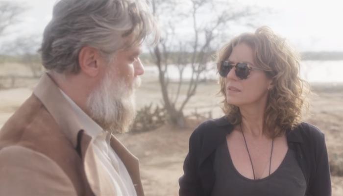 Ramiro (Fábio Assunção) e Cássia (Patrícia Pillar) em cena deOnde Nascem os Fortes (Foto: Reprodução/Globo)