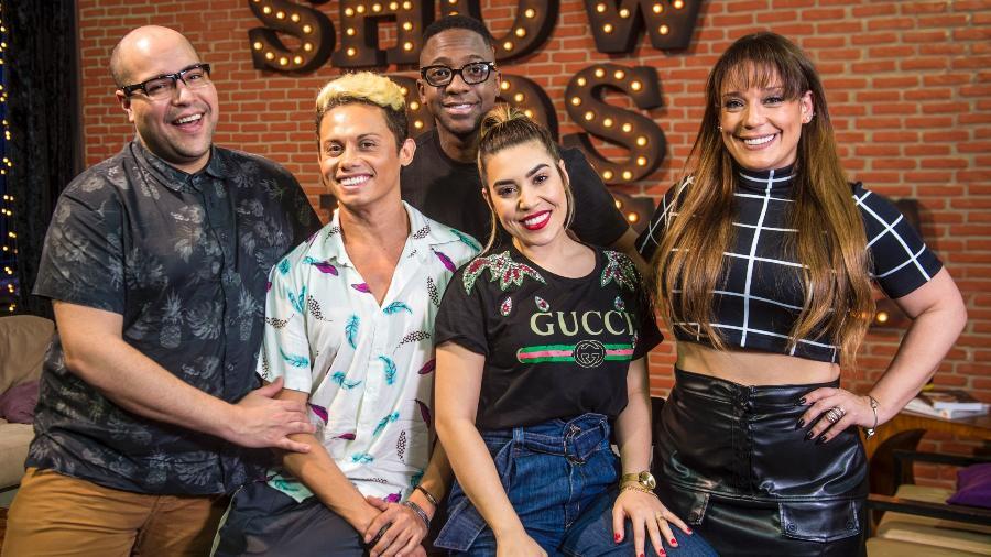 Finalistas do Show dos Famosos (Foto: Reprodução)
