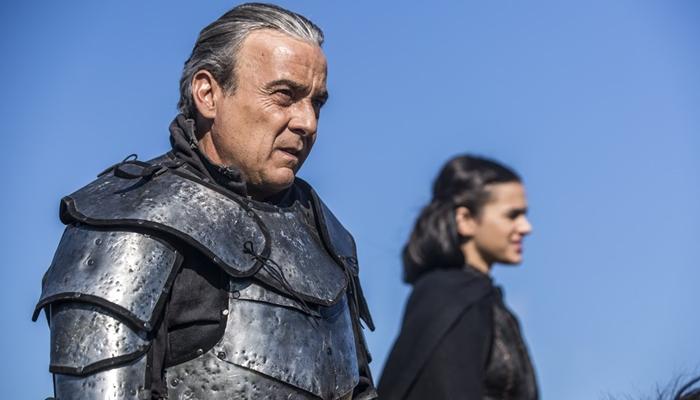 Otávio(Alexandre Borges)em cena deDeus Salve o Rei (Foto: Artur Meninea/Globo)