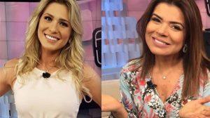 Lívia Andrade e Mara Maravilha (Foto: Reprodução)