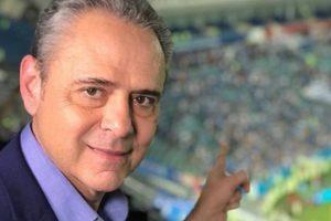 Luís Roberto na Globo. (Foto: Divulgação)
