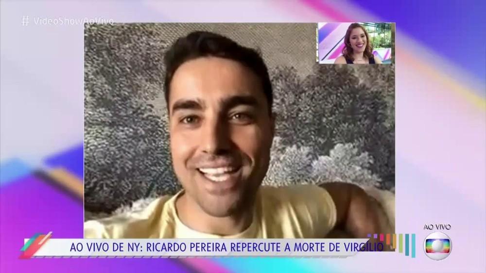 Ricardo Pereira de visual novo (Foto: Reprodução/Globo)