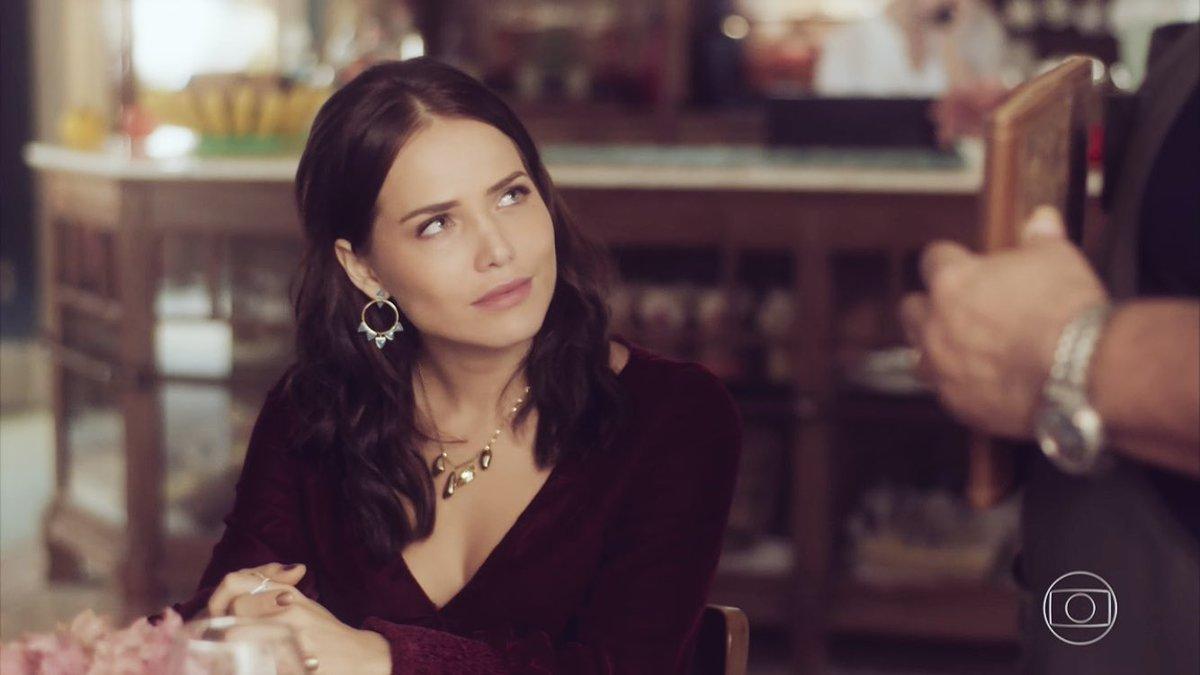 Rosa humilhou Agenor em cena de Segundo Sol (Foto: Reprodução/Globo)