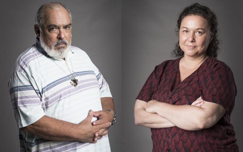 Agenor (Roberto Bonfim) e Nice(Kelzy Ecard) (Foto: Reprodução)