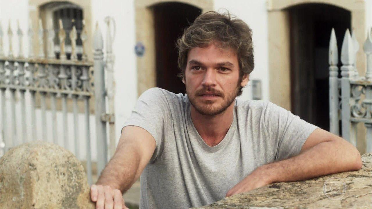 Beto Falcão (Emilio Dantas) em cena de Segundo Sol (Foto: Reprodução/Globo)