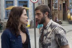 Rosa (Letícia Colin) eÍcaro (Chay Suede) em cena de Segundo Sol (Foto: Reprodução/Globo)