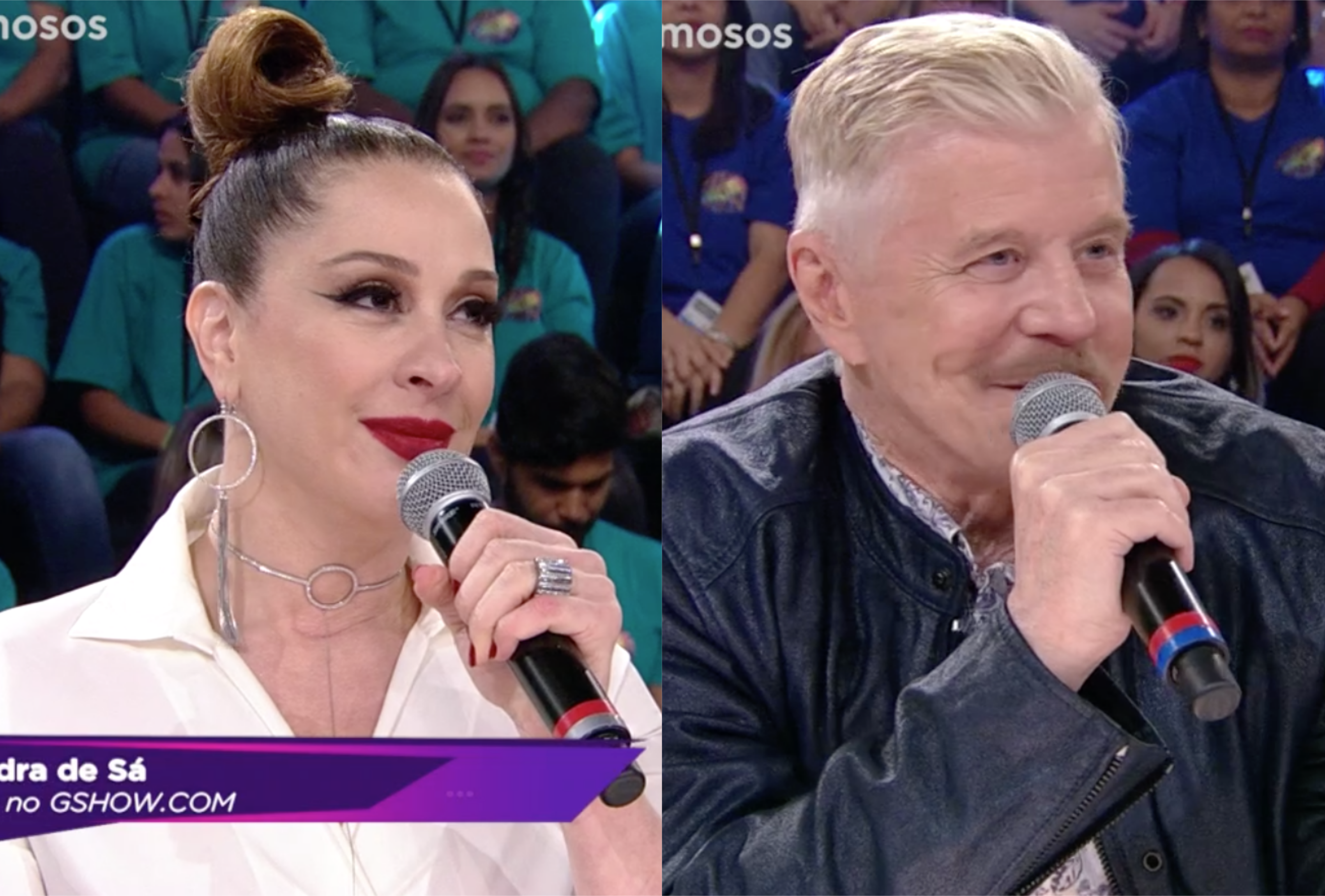 Show dos Famosos pegou fogo na Globo (Foto montagem: TV Foco)