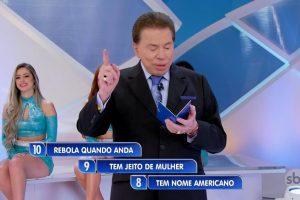 Charada de Silvio Santos volta a polemizar (Foto: Reprodução/SBT)