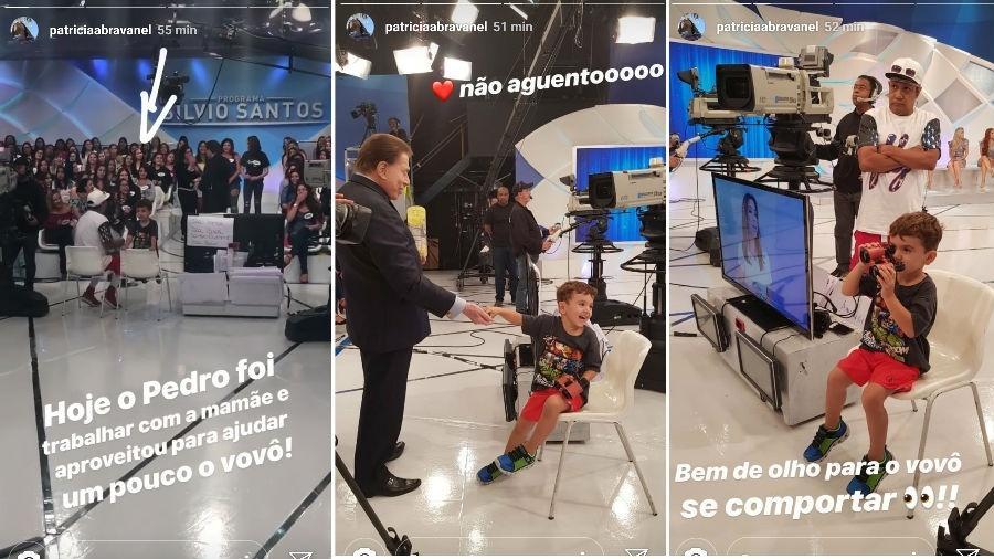 Silvio Santos e neto (Foto: Reprodução)