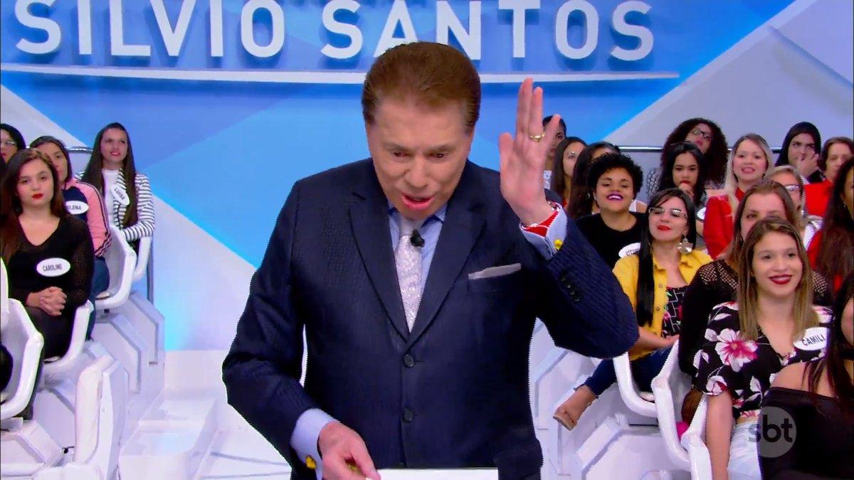 Silvio Santos polemizou novamente (Foto: Reprodução)