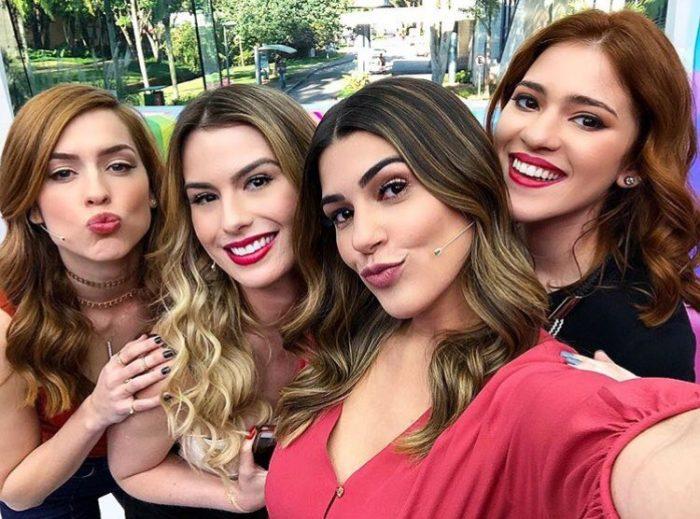 Sophia Abrahão, Fernanda Keulla, Vivian Amorim e Ana Clara (Foto: Divulgação)