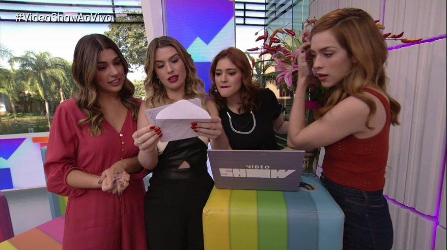 As várias apresentadoras do Vídeo Show (Foto: Reprodução)