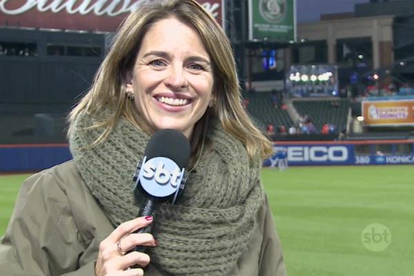A correspondente Yula Rocha. (Foto: Reprodução)
