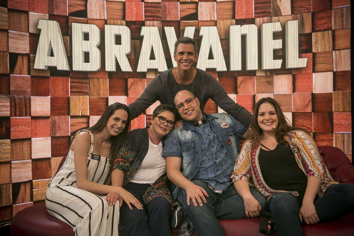 Família Abravanel no Tamanho Família (Foto: Reprodução)