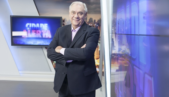 O jornalista Marcelo Rezende (Foto: Edu Moraes/Record)
