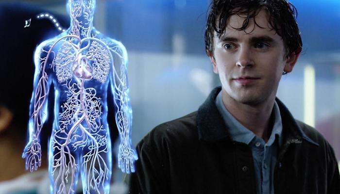 Freddie Highmore na primeira temporada da série The Good Doctor (Foto: Divulgação/ABC)