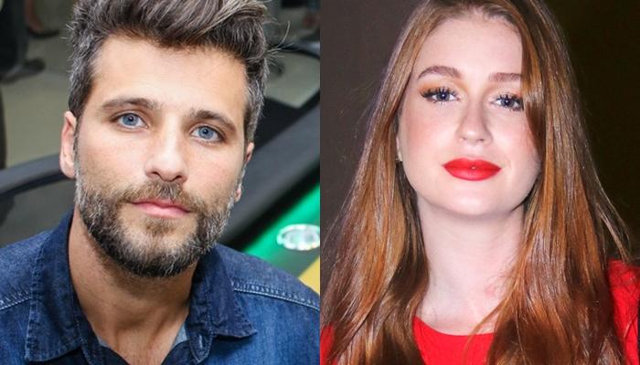 Bruno Gagliasso e Marina Ruy Barbosa vão protagonizar a novela O Sétimo Guardião. (Foto: Reprodução)