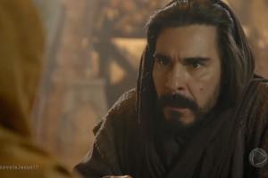 Barrabás (André Gonçalves) em cena da novela Jesus (Foto: Reprodução/Record)