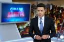 O apresentador Luiz Bacci no Cidade Alerta (Foto: Reprodução/Record)