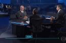 Ciro Gomes (PDT) foi o primeiro entrevistado no Jornal Nacional (Foto: Reprodução/Gobo)