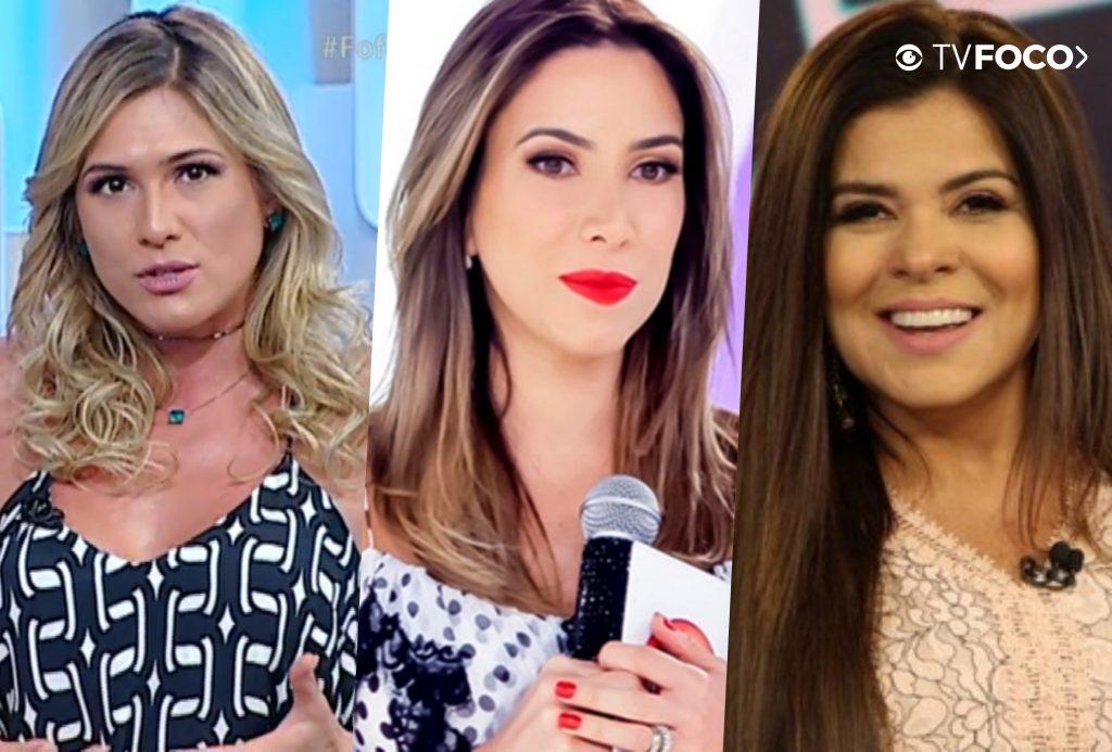 Patricia Abravanel pediu a paz entre Lívia Andrade e Mara Maravilha no SBT