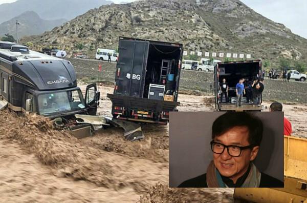 Resgate de Jackie Chan (Foto: Reprodução)
