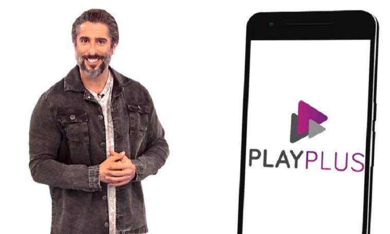 Marcos Mion em divulgação do PlayPlus (Foto: Divulgação)