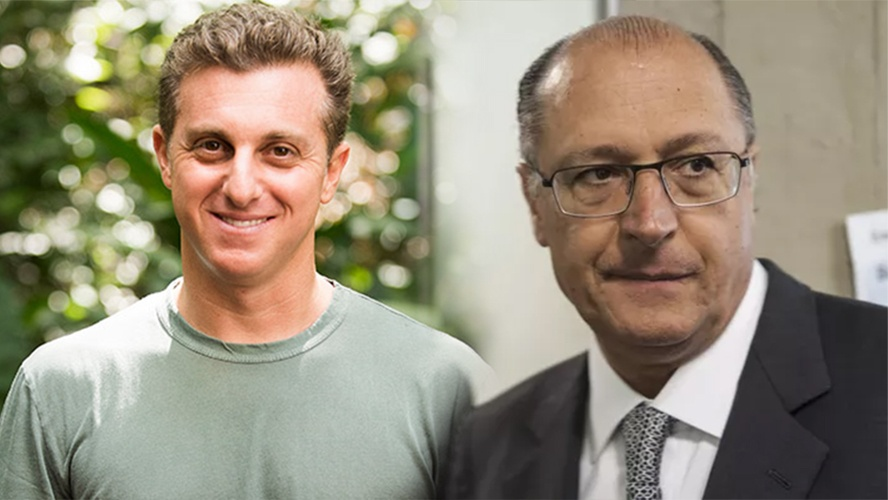 Luciano Huck e Geraldo Alckmin (Foto: Reprodução)