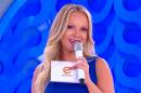 A apresentadora Eliana em seu programa no SBT (Foto: Reprodução)