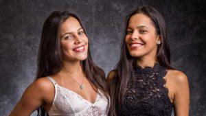 A ex-BBB Emilly e a irmã Mayla (Foto: Divulgação)